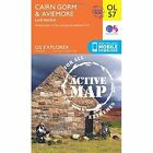 Cairn Gorm & Aviemore, Loch Morlich by Ordnance Survey (Sheet map, folded, 2015)