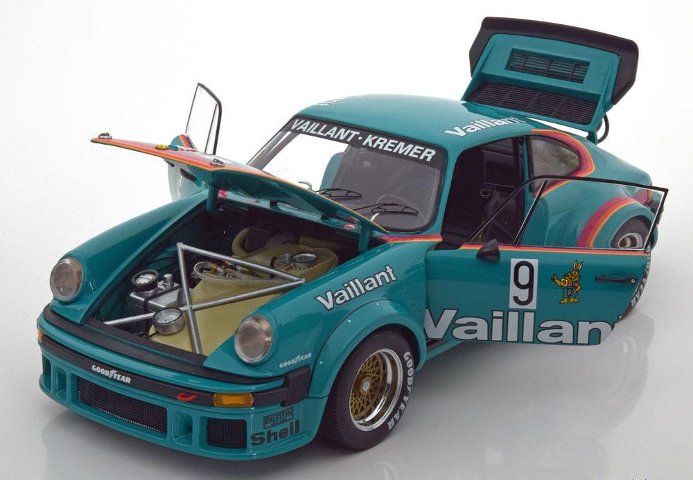 Schuco 1976 RENNSPORT Porsche 934 RSR DRM Vaillant Wollek 1 18New