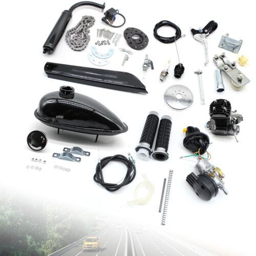 2-Takt 50cc Moteur Motorisierte Fahrrad Benzin Hilfsmotor Bike Engine 26'' Radsport 28''