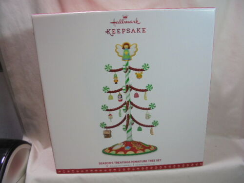 2017 Hallmark Keepsake Season/'s Treatings Miniature Tree Set 2 Versions REPAINT