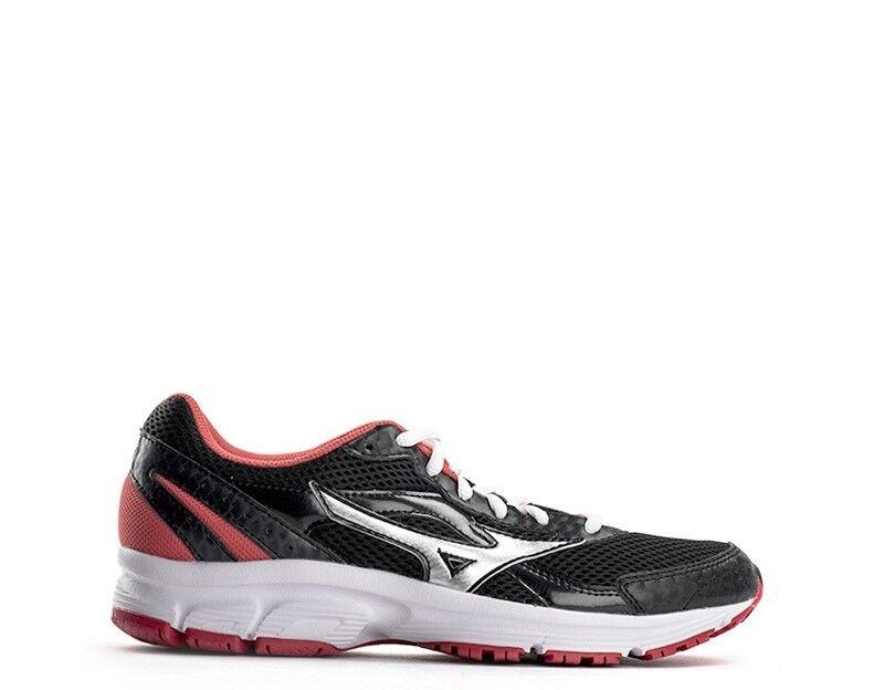 shoes MIZUNO women Running women  black red PU K1GL1504-18