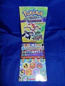 Lot-of-2-Pokemon-Ultimate-Handbook-Updated-Ed-Pokemon-Essential-Handbook-VG-PB