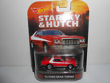 Hot Wheels Retro K Case Starsky & Hutch '76 Ford Gran Torino Hobby Only