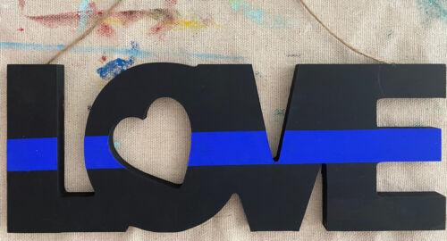 Love Sign Decor Police