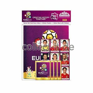 UEFA EM 2012 Startset mit Hardcover-buch (109950)