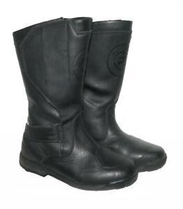 034-STREETLINE-034-Damen-Motorradstiefel-Stiefel-Biker-Boots-in-schwarz-Gr-38