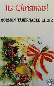 It-039-s-Christmas-by-The-Mormon-Tabernacle-Choir-Cassette-1977-CBS