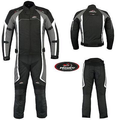 PROANTI/® Motorradhose Biker Hose Touring Sport Motorrad Textil Hose