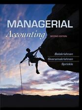 Managerial Accounting 2nd Int'l Edition