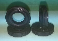 Set of 4 Marx 1:32 Scale Early Home Set Slot Car Tires