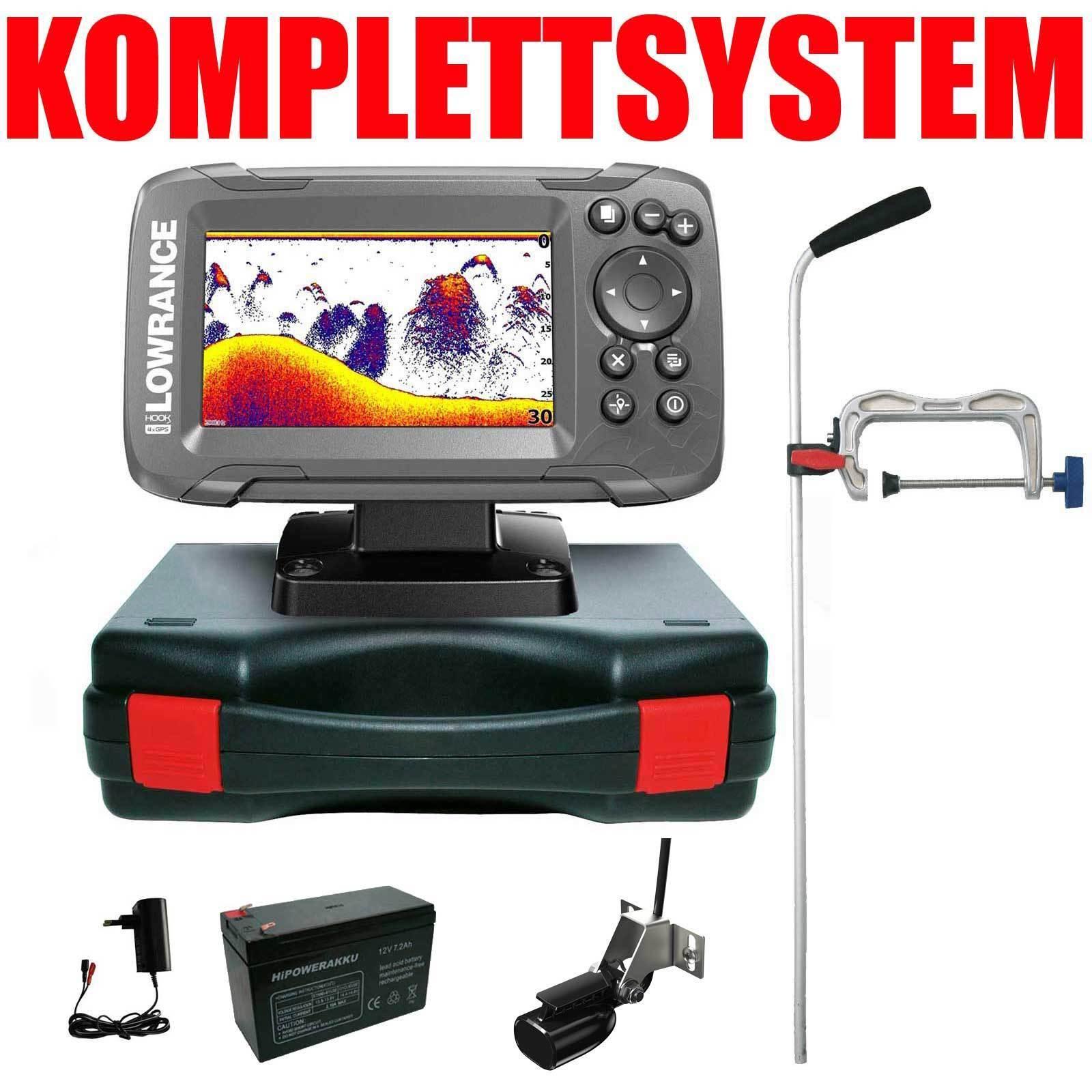 Niedrigrance Echolot GPS Portabel Profi Edition Komplettsystem - Hook2 4x 4x 4x GPS 33ad4e