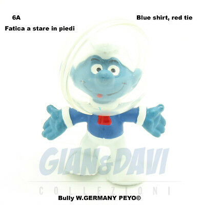 Brillante Puffo Puffi Smurf Smurfs Schtroumpf 2.0003 20003 Astro Astronauta 6a Non Stabile Quell Summer Thirst