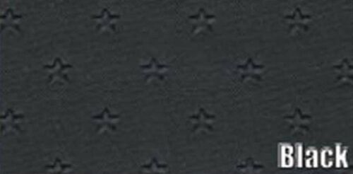 1962 PONTIAC GRAN PRIX 6 BOW HEADLINER//SAIL PANEL KIT STAR PATTERN BLACK COLOR