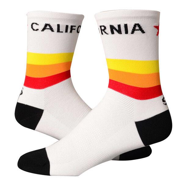 Save Save Save Our Soles Retro Cali 12.7cm Vuelta Bicicleta California Calcetines un Par ec7804