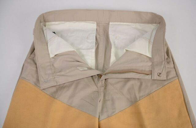 b752fb622a70a Vintage Orvis Men's Khaki Pants Sz 34 Thick Outdoor Fishing Cotton Hunting  Warm