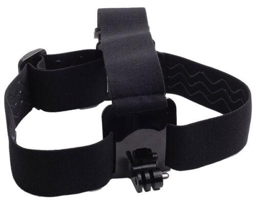 Antidérapant Harnais de Tête Adjustable et Elastique pour Garmin Virb Elite HD 1