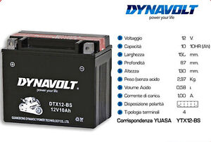DTX12-BS-BATTERIA-DYNAVOLT-PER-MOTO-KYMCO-PEOPLE-LC-2003-2004
