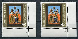 Berlin-658-FN-1-2-postfrisch-Eckrand-Formnummer-Ecke-4-Weihnachten-1981