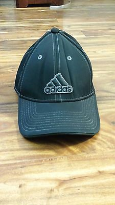 ADIDAS BLACK GOLF A500 APPROACH CAP BASEBALL HAT *FREE SHIPPING*