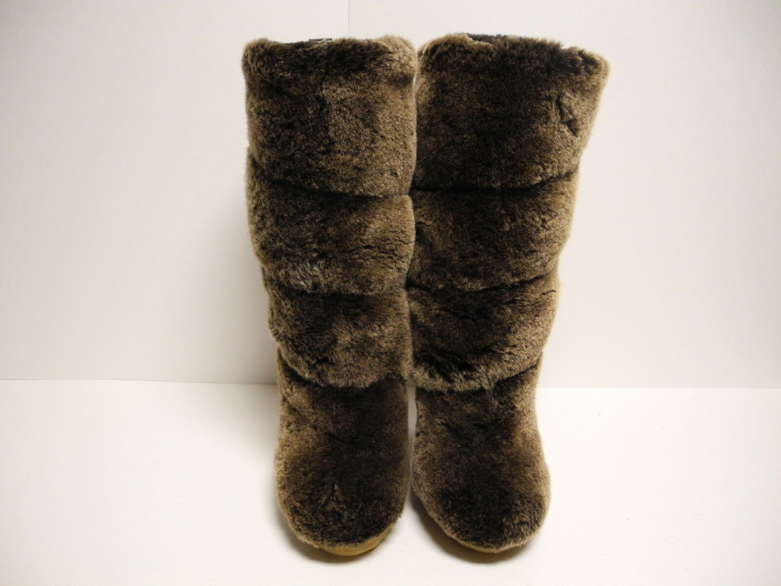 Tory Burch real fur stivali Dimensione 5