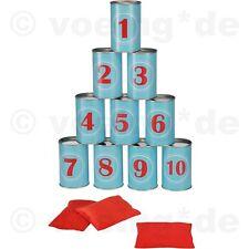 Dosenwerfen-Spiel Kinderspiel Dosen-Werfen Dosenwurf Geschicklichkeitsspiel