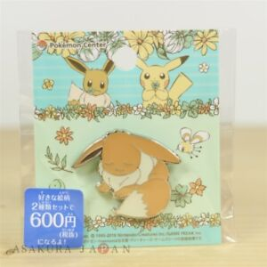 Pokemon-Center-Original-7days-story-Pin-badge-034-Day-7-034-Eevee-Pins-From-Japan