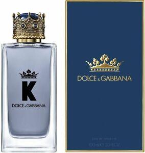 K by Dolce & Gabbana cologne for men EDT 3.3 / 3.4 oz New in Box