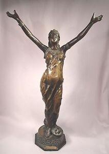 Sinnvoll Salambo Orientalische Weiblich Bronze Skulptur Signiert J.garnier Metallobjekte 1853-1910 Antike Originale Vor 1945