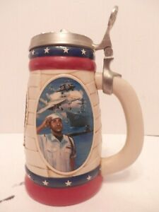 US-Armed-Forces-Navy-Stein-EUC-2002-Anheuser-Busch-CS571-04110-Free-Shipping