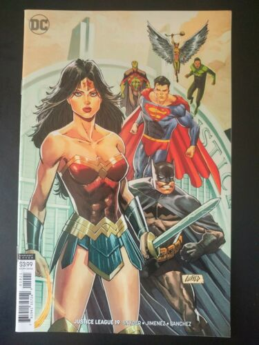⭐️ JUSTICE LEAGUE #19b ~ VF//NM Book 2019 DC Universe Comics