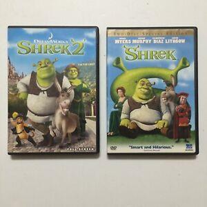 Shrek And Shrek 2 Dreamwork S Dvd Movies Kid S Movies Ebay