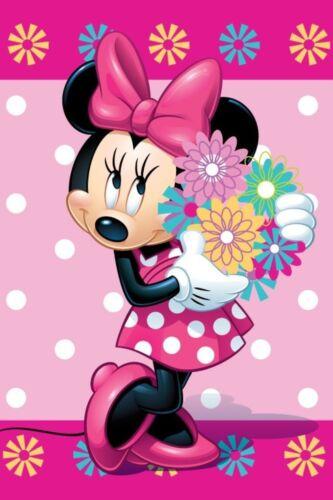Disney Minnie Fleecedecke Schmusedecke Kuscheldecke 100 x 150 cm