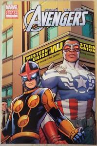 NEW-THE-AVENGERS-Marvel-Custom-Edition-1-Western-Union