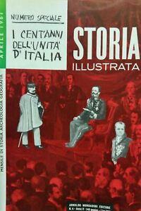STORIA-ILLUSTRATA-APRILE-1961-I-CENTO-ANNI-DELL-039-UNITA-039-D-039-ITALIA