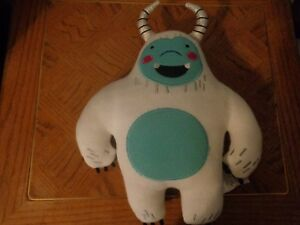 image is loading plush doll figure christmas abominable snowman decorative pillow - Target Christmas Toys