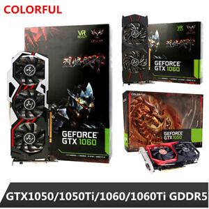 Colorful-Genuine-GeForce-GTX-1050-1060-6GB-GDDR5-Gaming-Video-Graphics-Card-LJ