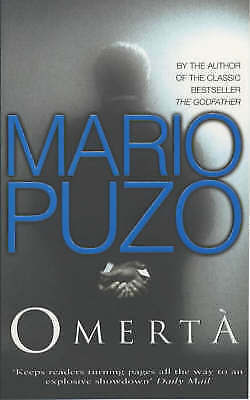 """AS NEW"" PUZO, MARIO, OMERTA, Paperback Book"