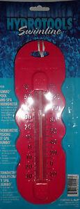 Hydrotools Swimline Jumbo Piscine Et Spa Thermomètre Rose-afficher Le Titre D'origine Haute SéCurité