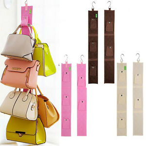 Handbag Bag Holder Rack Organizer Strap Door Hanger 5 Hook