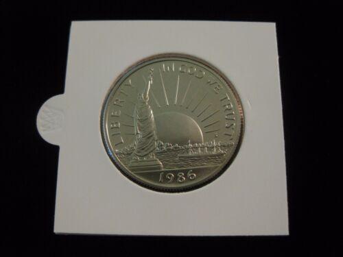 Half Dollar commemorative coin  Immigration 1986 Statue of Liberty Proof  U.S