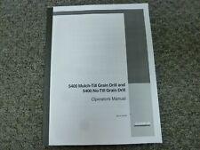 Case Ih 5400 Mulch Till Amp No Till Grain Drill Owner Operator Maintenance Manual