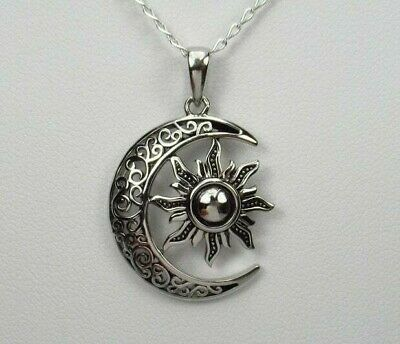 Small Charm Large Pendant Cheap Shipping Rates Sterling Silver Mountain Range Pendants with Bronze Sun 925 Sterling Silver