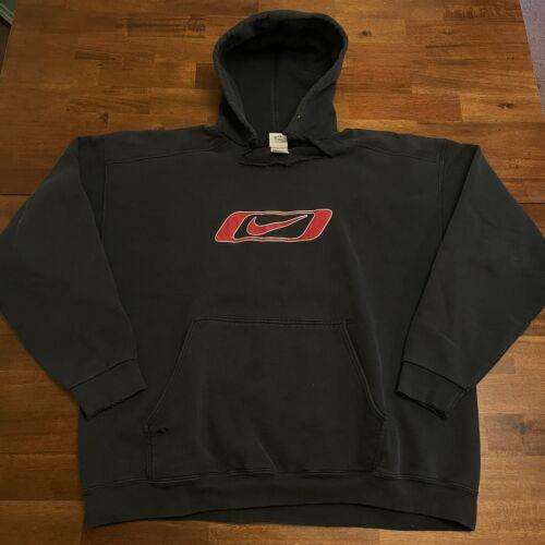 VTG Nike Center Swoosh Hoodie Sweatshirt Travis S… - image 1