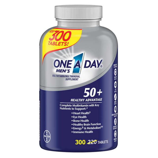 one a day men amp  s 50 multivitamin 300 tablets for sale