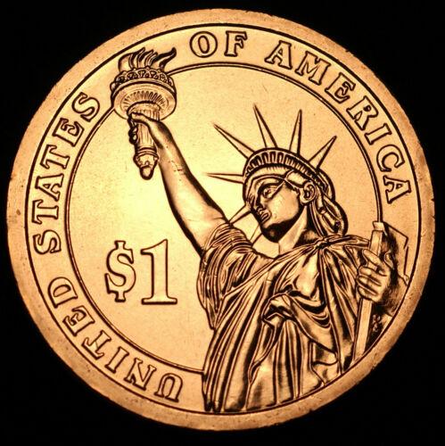 2012 D  Benjamin Harrison Presidential Dollar ~ Pos  A ~ From Original Mint Set