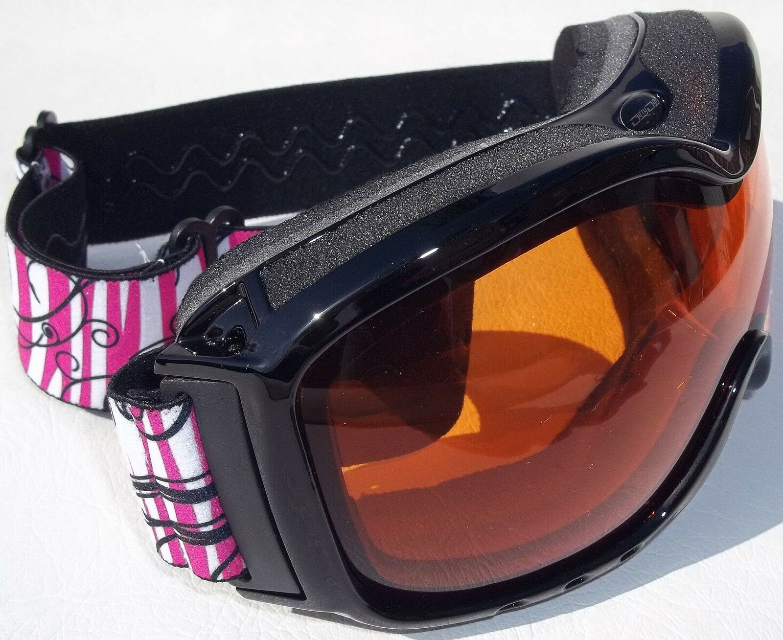 DIRTY DOG FRESH SKI GOGGLES SNOWBOARDING orange FLASH CAT 1 LADIES 54050