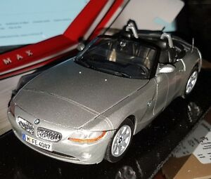 Motor Max Car Miniatures Bmw Z4 Cabriolet Diecast Metal Scale 1 24 New Ovp Ebay