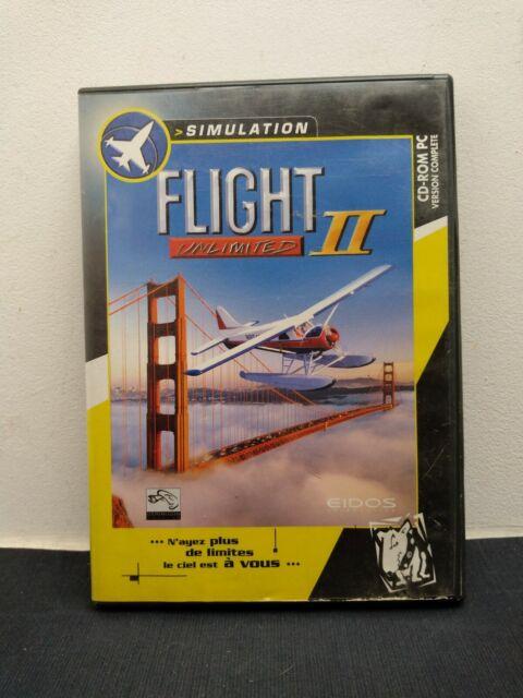 """JEU pour PC """" FLIGHT UNLIMITED 2 II """" // Ensemble comprenant le Jeu + Boitier CD"""