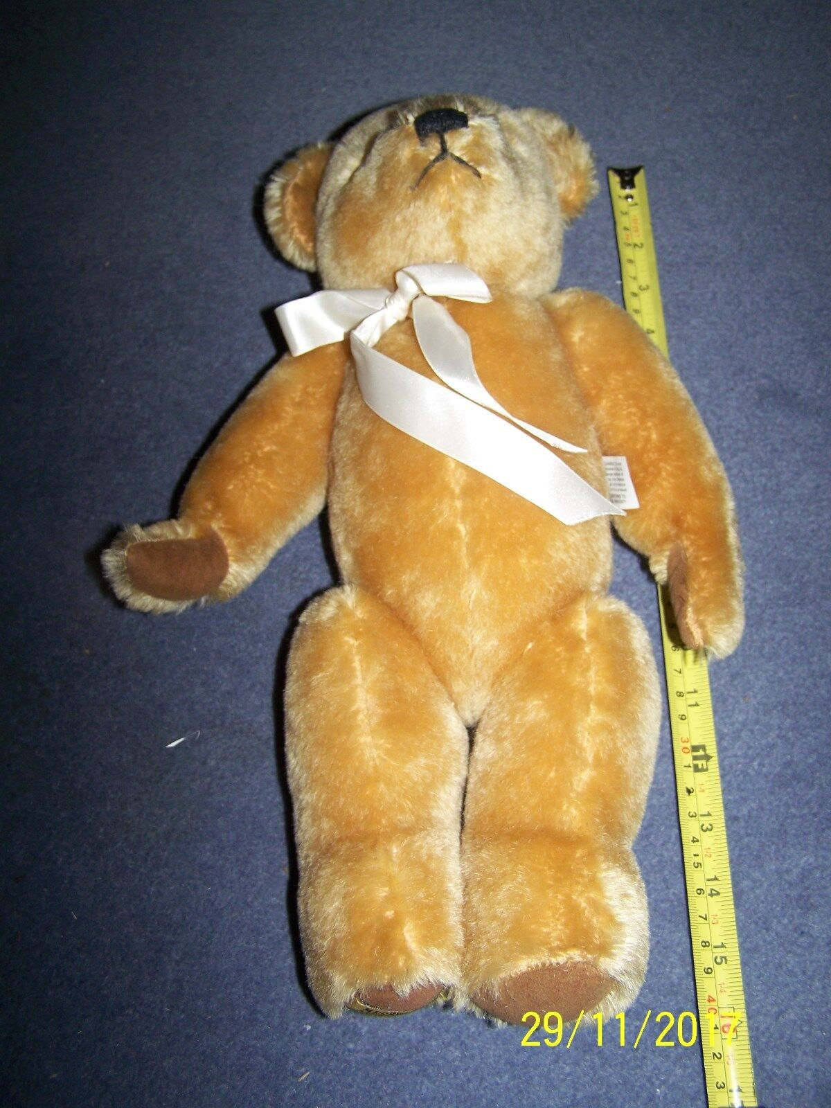 Marrone Dorato ~ Merrythought orso peluche ~ 15  ~ REG N. PA169