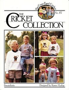 Cross-Eyed-Cricket-SWEATSHIRTS-for-Counted-Cross-Stitch-No-57